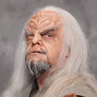 Klingon Makeup by Thom Surprenant