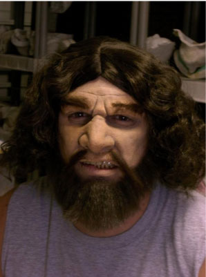Caveman Makeup Tutorial