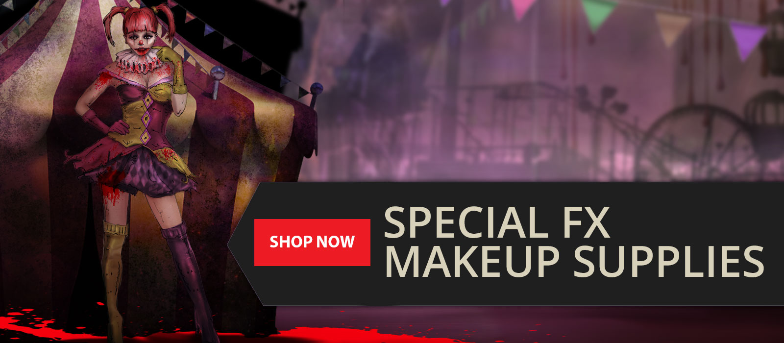 Special FX Makeup Supplies from FX Warehouse