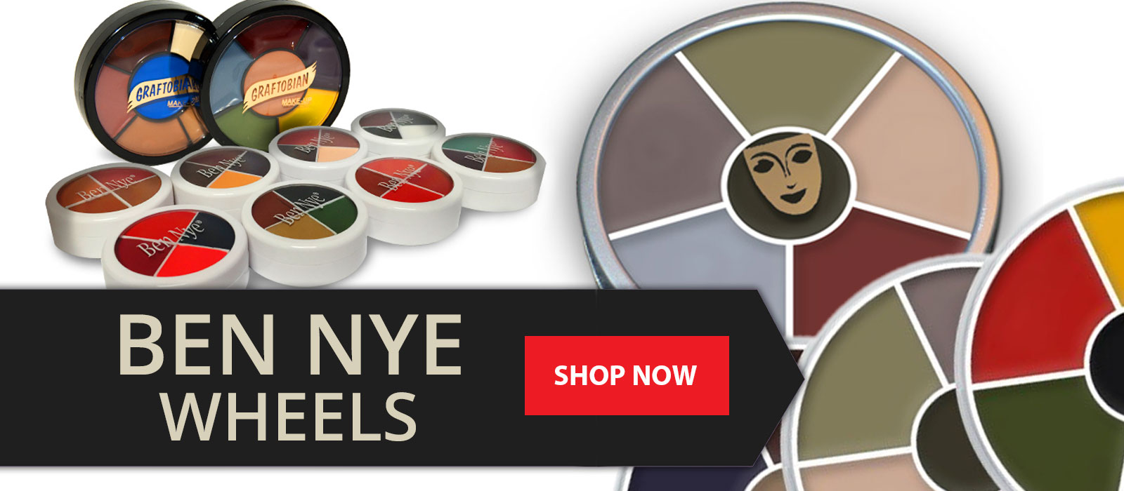 Shop for Ben Nye Makeup Wheels