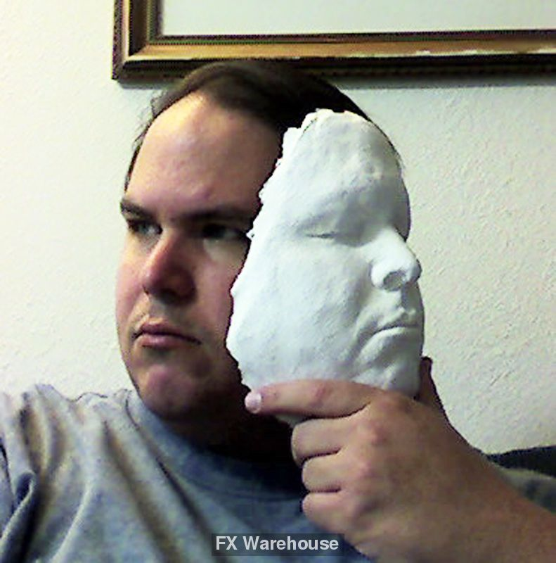 Lifecasting Kit for Front Face