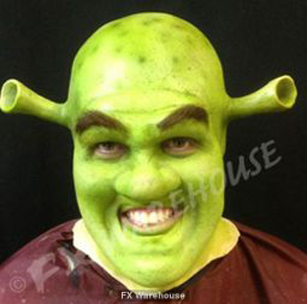 Ogre Use For Shrek Face Foam Latex Prosthetic By Mwa Fxwarehouse Com
